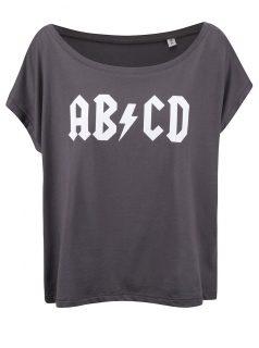 Šedé dámské volnější tričko ZOOT Originál ABCD