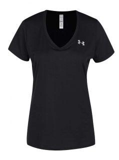 Černé dámské funkční tričko Under Armour Solid