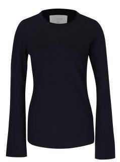 Tmavě modré tričko s dlouhým rukávem YAYA