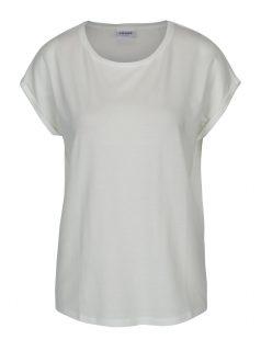 Krémové dámské tričko s krátkým rukávem VERO MODA Ava