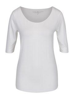 Krémové dámské tričko Tommy Hilfiger Jada Ballerina