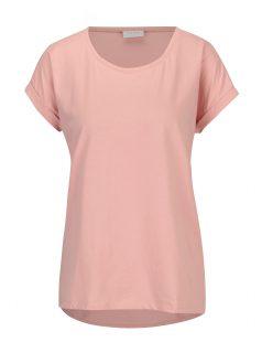 Světle růžové oversized tričko VILA Dreamers