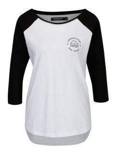 Bílé dámské tričko s dlouhým rukávem Horsefeathers Linn