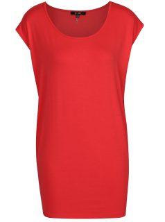 Červené volné tričko Yest