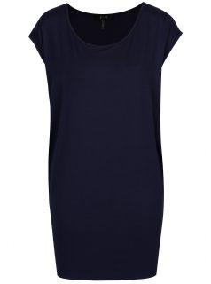 Tmavě modré volné tričko Yest
