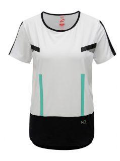 Černo-bílé tričko Kari Traa Anita Tee
