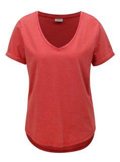 Červené oversize tričko Jacqueline de Yong Darry