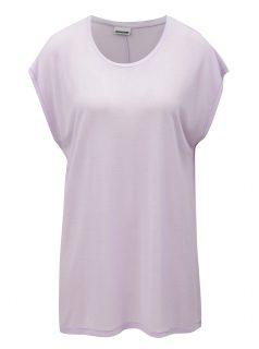 Světle fialové oversize tričko Noisy May Mila
