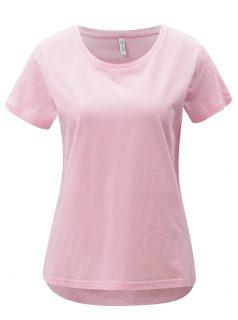Růžové basic tričko Blendshe Jodie