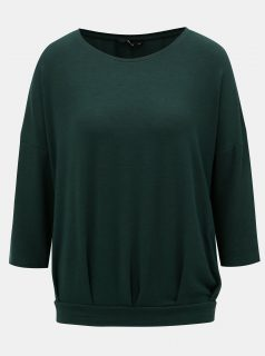Zelené volné tričko ONLY Mida