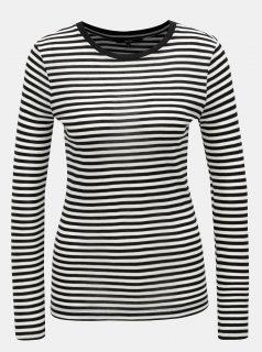 Bílo-černé pruhované tričko VERO MODA Ita