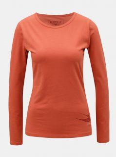 Oranžové dámské tričko s potiskem BUSHMAN Lahaina