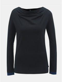 Černé tričko s dlouhým rukávem Tranquillo Anahita