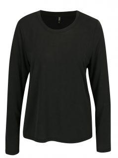 Černé volné basic tričko ONLY Venus