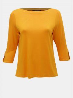 Oranžové tričko s 3/4 rukávem Dorothy Perkins Curve