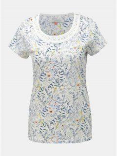 Bílé květované tričko Brakeburn Botanical
