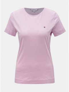 Růžové dámské tričko Tommy Hilfiger Tessa