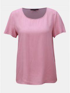 Starorůžové basic tričko VERO MODA Simply