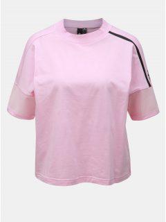 Růžové dámské tričko adidas Performance Trupnk