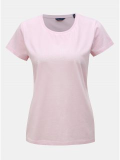 Světle růžové dámské tričko s potiskem GANT