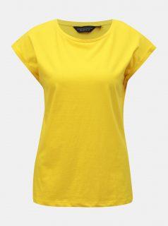 Žluté basic tričko Dorothy Perkins