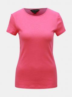 Růžové basic tričko Dorothy Perkins