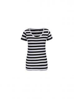 Černo-bílé pruhované tričko Haily's Mona