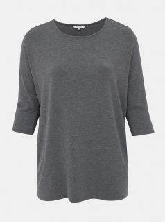 Šedé volné tričko ONLY CARMAKOMA Winther