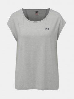 Šedé sportovní tričko Kari Traa Celina Tee