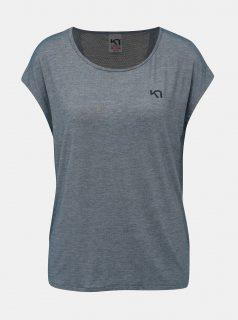 Modré sportovní tričko Kari Traa Celina Tee