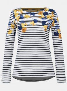Modro-bílé vzorované tričko Tom Joule
