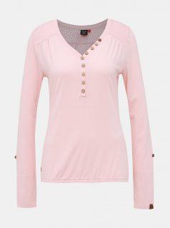 Růžové dámské tričko Ragwear Pinch Solid