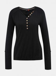 Černé dámské tričko Ragwear Pinch Solid