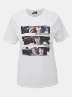 Bílé tričko  s potiskem TALLY WEiJL Pulp Fiction