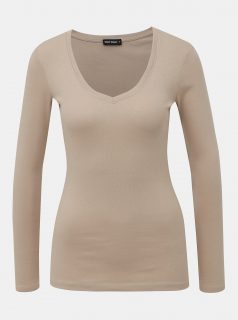Béžové basic tričko TALLY WEiJL