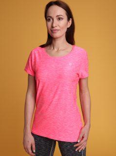 Růžové dámské tričko LOAP Madam