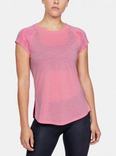 Růžové dámské tričko Streaker Under Armour