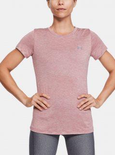 Růžové dámské tričko Twist Under Armour