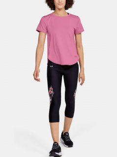 Růžové dámské tričko Crossback Under Armour
