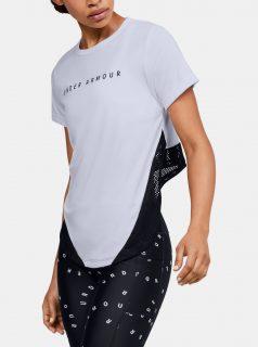 Bílé dámské tričko HeatGear Under Armour