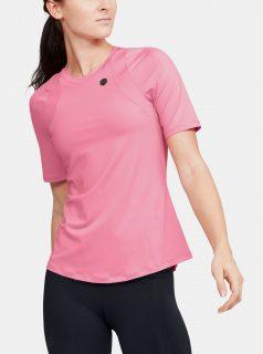 Růžové dámské tričko Rush Under Armour