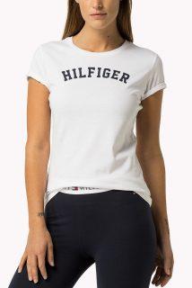 Tommy Hilfiger bílé tričko Tee Print
