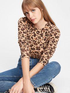 Béžové dámské tričko GAP
