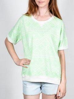 Element ROXANE PATINA GREEN dámské triko s krátkým rukávem – zelená