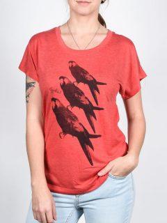 Ezekiel Poll VRD dámské triko s krátkým rukávem – červená