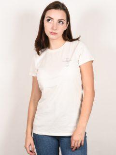 Animal SPORTZ COCONUT CREAM dámské triko s krátkým rukávem – bílá