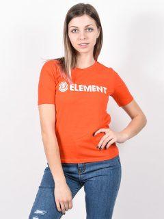 Element LOGO GRENADINE dámské triko s krátkým rukávem – červená