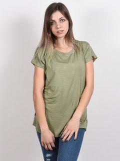 Alife and Kickin MIMMYAK DUST dámské triko s krátkým rukávem – zelená