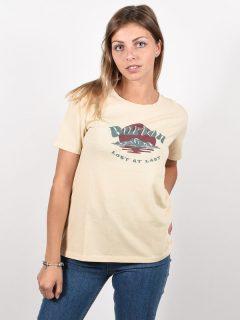 Burton ASHMORE CREME BRULEE dámské triko s krátkým rukávem – béžová