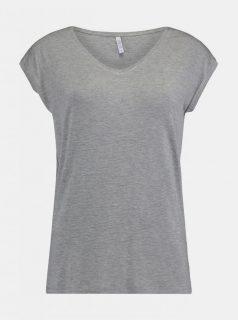 Šedé dámské tričko Hailys